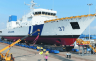 6th Offshore Patrol Vessel 'VAJRA' launched at Chennai