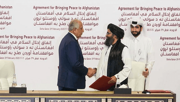Afghanistan's Taliban, US sign agreement aimed at ending war