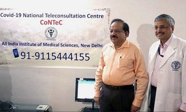 """Ministry of Health and Family welfare launched  """"National Teleconsultation Centre (CoNTeC)"""""""