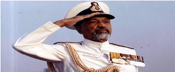 Former Indian Navy chief Sushil Kumar passes away