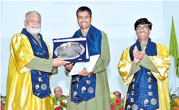 Iit kanpur honours gopichand with honorary doctorate