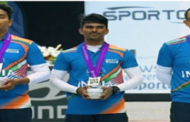 Indian men's recurve team bags silver medal at archery world championships