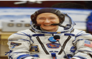 NASA's astronaut Christina Koch returned from space to Earth safely