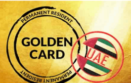 Ica issues first uae permanent residency 'golden card' in abu dhabi