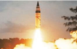 First night trial of Agni II missile conducted successfully