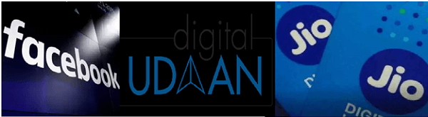JIO LAUNCHES 'DIGITAL UDAAN', A DIGITAL LITERACY INITIATIVE IN PARTNERSHIP WITH FACEBOOK.