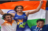Vinesh phoga wins the gold medal at grand prix of spain
