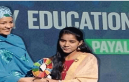 Payal Jangid becomes the first Indian to receive the Changemaker Award 2019