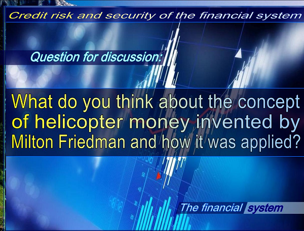 """The world economic experts suggest for """"Helicopter Money"""" to handle economic setbacks due to COVID – 19 outbreak"""