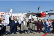 Manipur CM inaugurates Imphal to Dimapur direct flight service