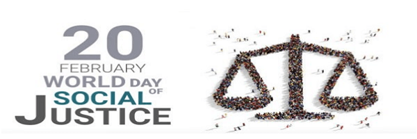World Day on Social Justice: 20 February
