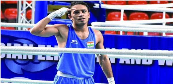 Amit Panghal becomes first Indian to enter World Men's Championship finals