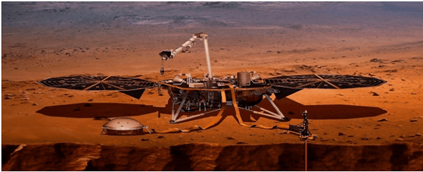 InSight lander detects first likely 'quake' on Mars