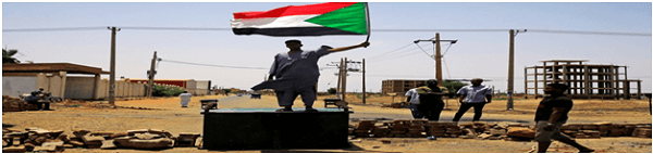 African bloc suspends sudan, demanding an end to military rule