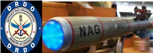 DRDO CARRIES OUT 3 TESTS OF NAG MISSILE IN ONE DAY IN POKHRAN