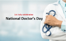 National doctor's day: 1 july 2019