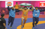 Sunil Kumar wins gold in 87-kg Greco Roman category in Asian Wrestling Championships