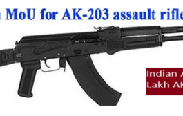 India-Russia to sign MoUs on AK-203 assault rifles