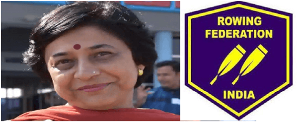 Rajalaxmi Deo elected as the President of Rowing Federation of India