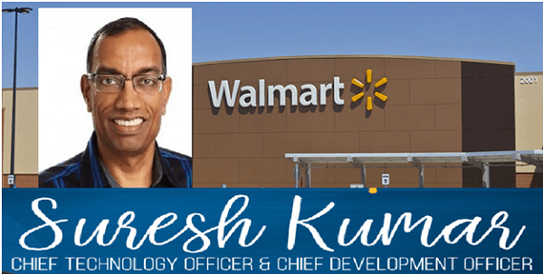 Walmart appoints ex-Google exec Suresh Kumar as chief technology officer