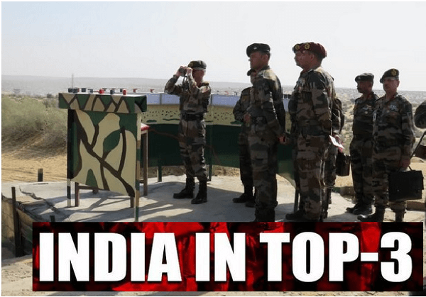 India third largest military spender in world, after US and China