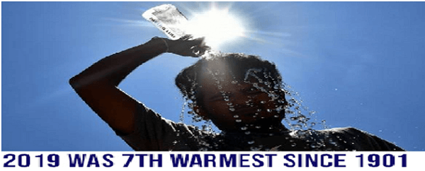 2019 was the 7th warmest year in India since 1901, says IMD