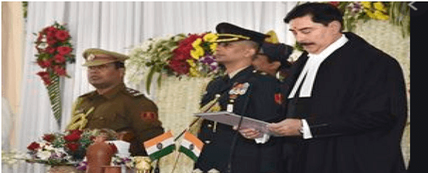 Justice Ravi Ranjan takes oath as new CJ for Jharkhand HC
