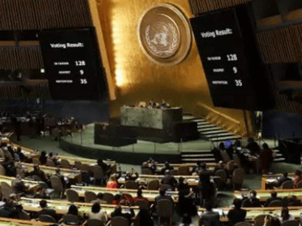 United Nations Organization adopts resolution on COVID – 19