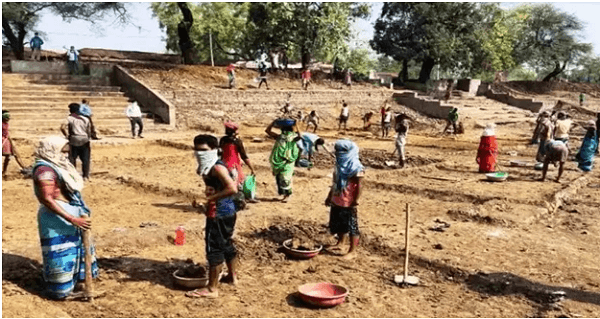 Chhattisgarh tops among other states in providing employment to workers under MGNREGS