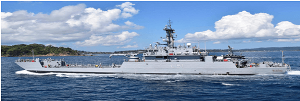 7th LCU Ship 'INLCU L57' commissioned into Indian Navy