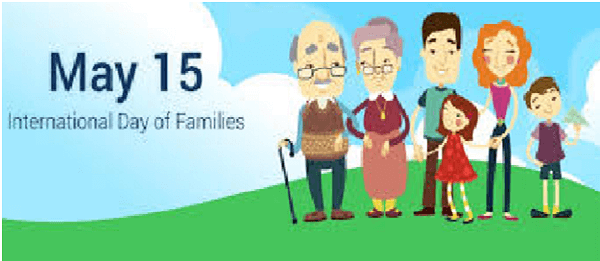 International Family Day: 15th May