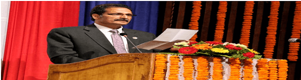 Agni Sapkota elected speaker of House of Representatives,lower house of parliament in Nepal