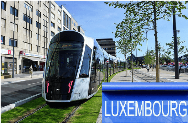 Luxembourg becomes 1st country to make public transport free