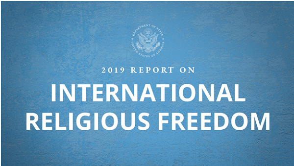 US State Dept releases International Religious Freedom Report