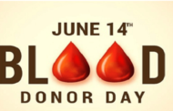World Blood Donor Day: 14 June