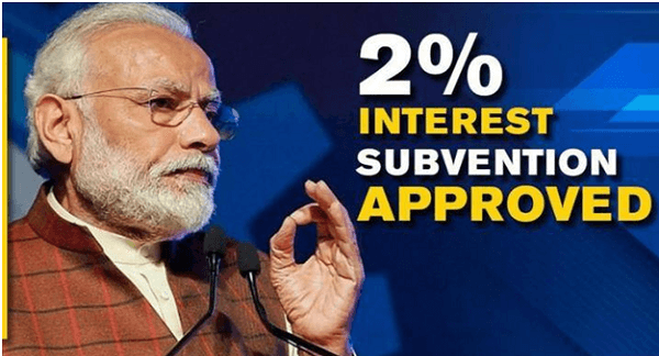 Government announces 2 per cent interest subsidy for small borrowers under Mudra Yojana