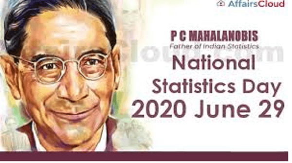 National Statistics day is observed on 29th June – 2020