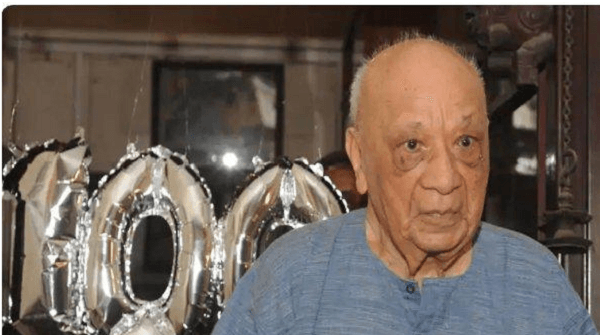 Vasant Raiji, the world's oldest first class cricketer, passes away at 100