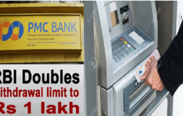 RBI raises PMC bank withdrawal limit to Rs 1 lakh