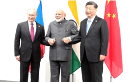 India to participate in trilateral RIC meeting with Russia, China