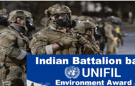 Indian battalion wins UNIFIL environment award