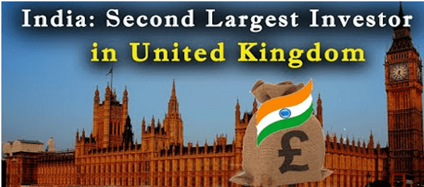India becomes a second largest source of FDI for UK