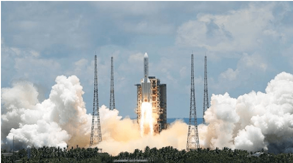 China has successfully launched an unmanned probe to Mars titled 'Tianwen-1'