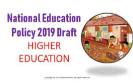 "New National Education Policy on ""Higher Education"""