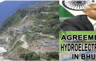 India signs agreement with Bhutan for 600 MW hydroelectric project