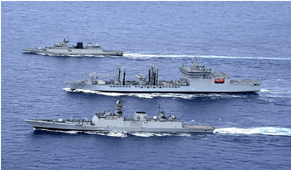 Indian Navy conducted Passex exercise with US