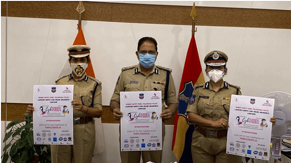 Telangana DGP launches CybHer campaign