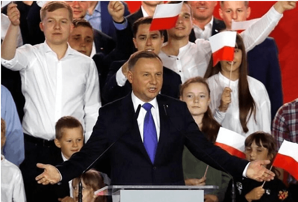 Andrzej Duda re-elected as President of Poland