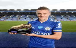 Jamie Vardy becomes oldest Premier League golden boot winner