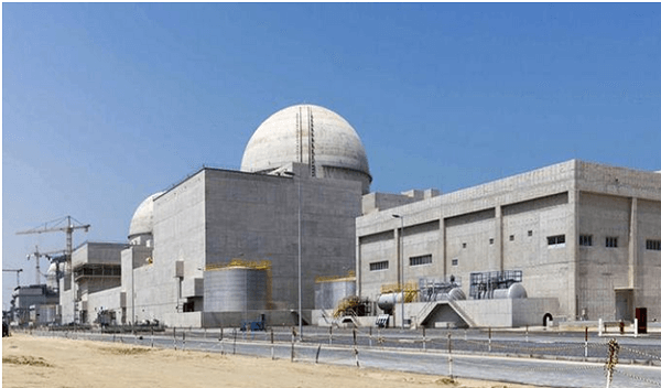 UAE becomes 1st Arab country to produce nuclear energy
